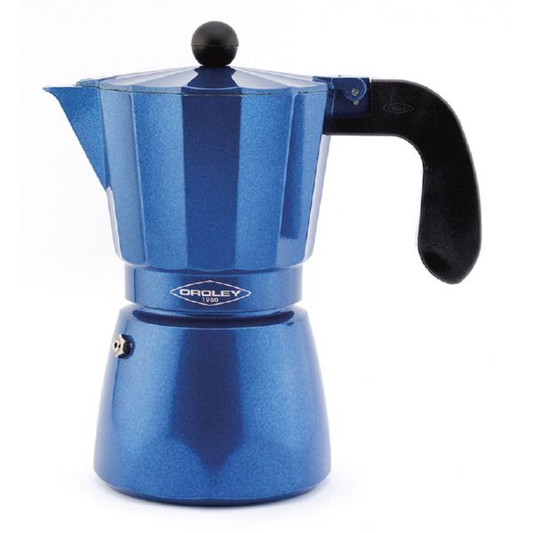 Cafetera Blue Induction. 6 tazas + cacillo reductor