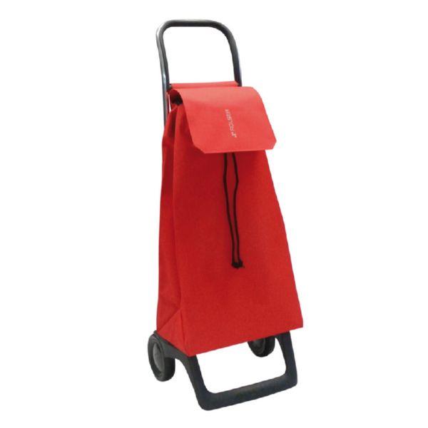 Carro compra Jet LN Joy rojo. 2 ruedas