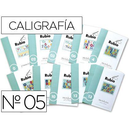 CUADERNO RUBIO CALIGRAFIA N¦ 05