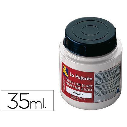 PINTURA LATEX LA PAJARITA BLANCO 35 ML